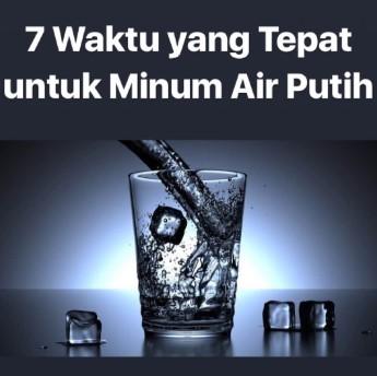 7 waktu minum