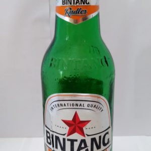 Bir Bintang Radler Orange Bottle